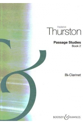 PASSAGE STUDIES CLARINET V.2 F. THURSTON BOOSEY HAWKES