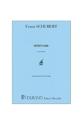 SERENADE SCHUBERT PIANO DURAND