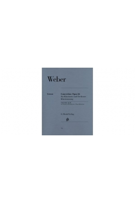 CONCERTINO PARA CLARINETE OP.26 WEBER HENLE