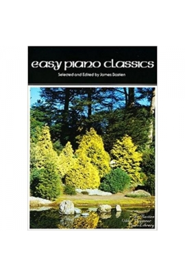 EASY PIANO CLASSICS OLDER BEGINNER BASTIEN KJOS WP42