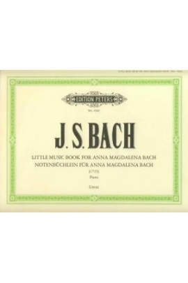 ALBUM ANA MAGDALENA BACH PIANO PETERS