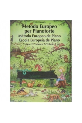 MÉTODO EUROPEO PIANOFORTE V.2 SCHOTT