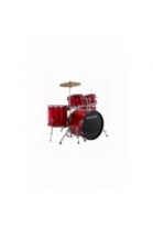 BATERÍA LUDWIG ACCENT DRIVE RED FOIL