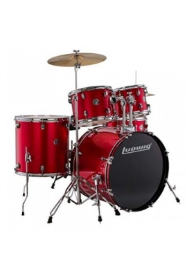 BATERÍA LUDWIG ACCENT FUSE RED FOIL